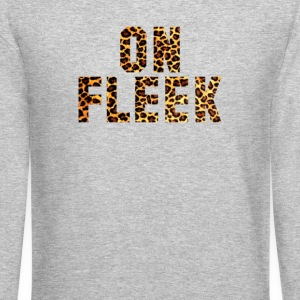 ON FLEEK Long Sleeve Shirts - Crewneck Sweatshirt
