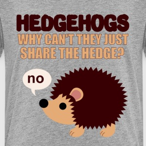 Hedgehogs don't share Kids' Shirts - Kids' Premium T-Shirt