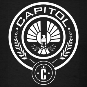capitol district logo - Men's T-Shirt
