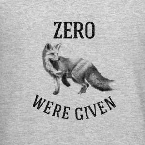 ZERO FOX WERE GIVEN Long Sleeve Shirts - Crewneck Sweatshirt