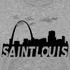 Saint St Louis Missouri Skyline