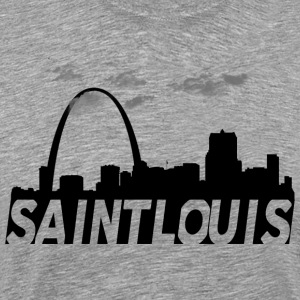 Saint St Louis Missouri Skyline - Men's Premium T-Shirt