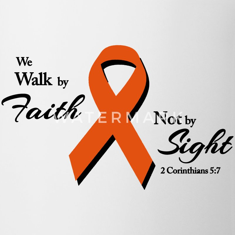 Walk By Faith Multiple Sclerosis  Mugs & Drinkware - Coffee/Tea Mug