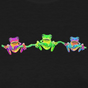 3 colorful frogs - Women's T-Shirt