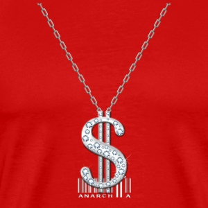 Bling Necklace T-Shirts - Men's Premium T-Shirt