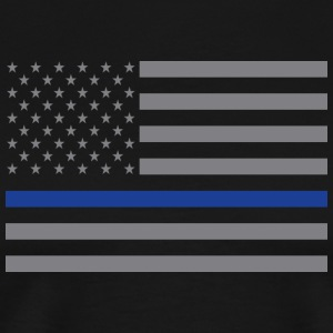 Thin Blue Line Flag - Men's Premium T-Shirt