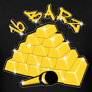 16 Barz Gold Bars Tees T-Shirts - Men's T-Shirt