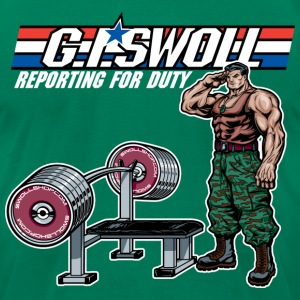 G.I. Swoll - Swoll Shop T-Shirts - Men's T-Shirt by American Apparel