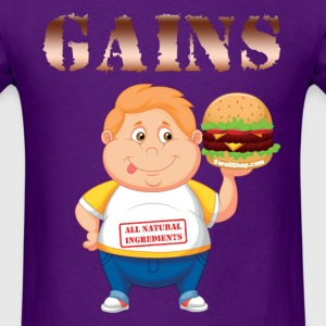 Gains - Swoll Shop T-Shirts - Men's T-Shirt