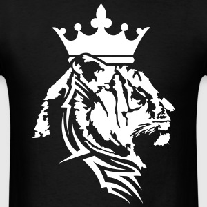 Tiger crown pattern T-Shirts - Men's T-Shirt