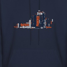 All Time Virginia Basketball Greats Men's Hooded S