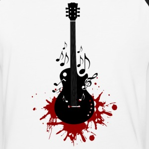 Bloody Guitar - Baseball T-Shirt