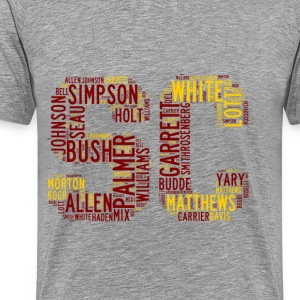 All Time SoCal Football Greats SC Design Unisex Tr - Men's Premium T-Shirt