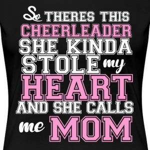 Cheerleader Mom Wome's T-shirt - Women's Premium T-Shirt