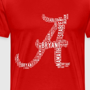 All Time Alabama Football Greats A Design Men's Pr - Men's Premium T-Shirt