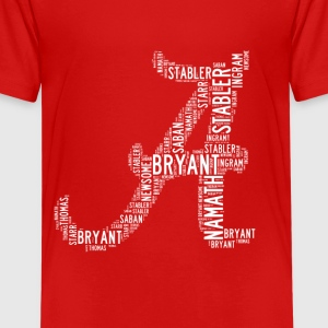 All Time Alabama Football Greats A Design Kid's Pr - Kids' Premium T-Shirt