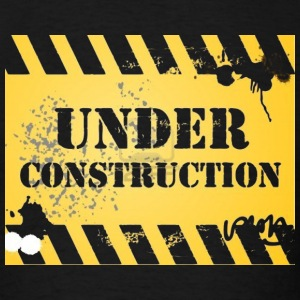under-construction - Men's T-Shirt