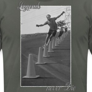Longboard Legends never Die - Brian Logan T-Shirts - Men's T-Shirt by American Apparel