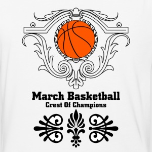 March Basketball Crest T-Shirts - Baseball T-Shirt