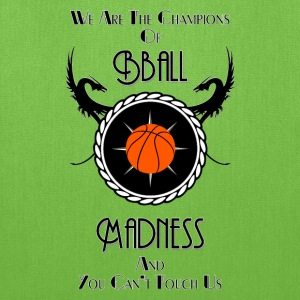 Champions Of Bball Madness Tote Bag - Tote Bag