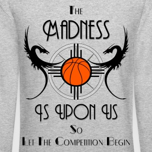 Madness Is Upon Us Challenge Men's Crewneck Sweats - Crewneck Sweatshirt