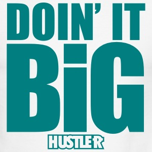 Doin' It Big Hustler - Men's Ringer T-Shirt