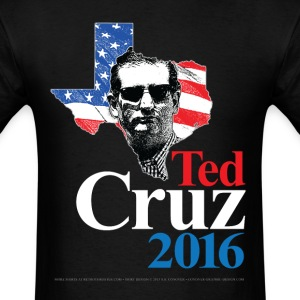 Ted Cruz 2016 American Swagger (on dark) T-Shirts - Men's T-Shirt