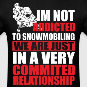 Commited Relationship T-Shirts - Men's T-Shirt