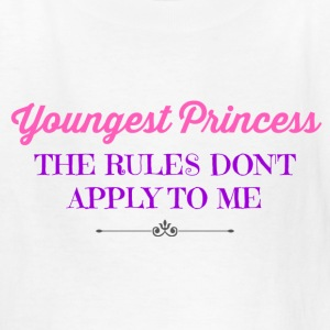 Youngest Princess - Kids' T-Shirt
