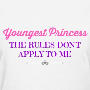 Youngest Princess - Women's T-Shirt