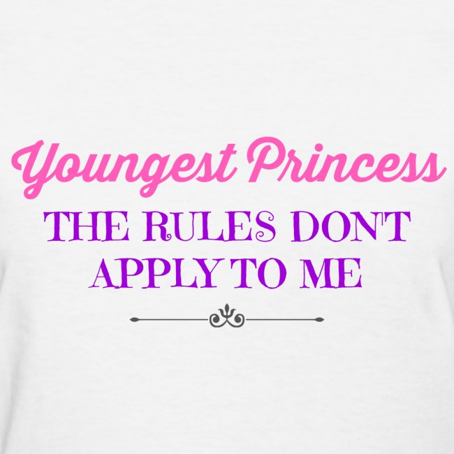 BEST SELLER- Youngest Princess