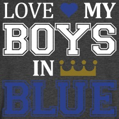 Love My Boys In Blue V-neck
