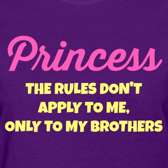 Rules Are for My Brothers