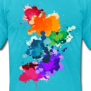 Gay Pride - Men's T-Shirt by American Apparel