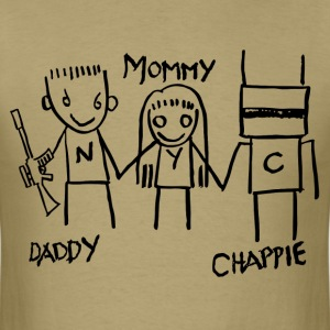 Daddy - Mommy - Chappie T-Shirts - Men's T-Shirt