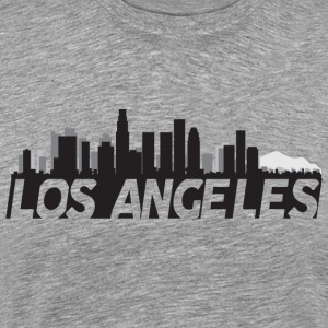 Los Angeles California Skyline - Men's Premium T-Shirt