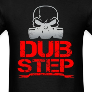 dubstep skull - Men's T-Shirt