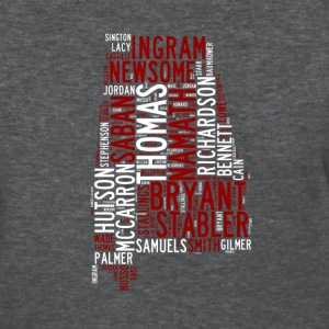 All Time Alabama Football Greats Women's Basic T-S - Women's T-Shirt