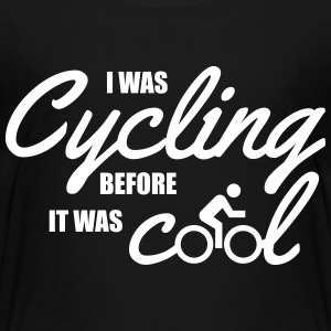 I was cycling before it was cool Kids' Shirts - Kids' Premium T-Shirt