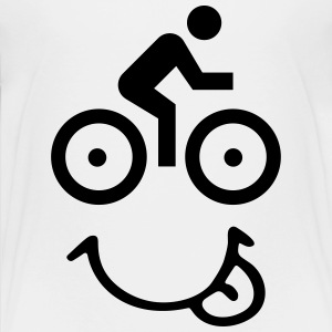 bike face Baby & Toddler Shirts - Toddler Premium T-Shirt