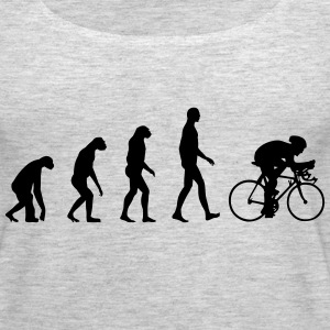 Evolution Bike, Cycling Tanks - Women's Premium Tank Top