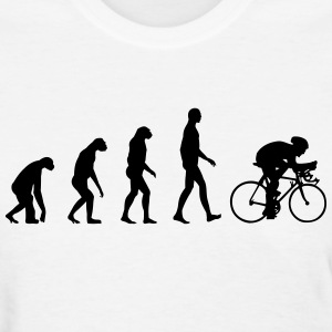 Evolution Bike, Cycling Women's T-Shirts - Women's T-Shirt