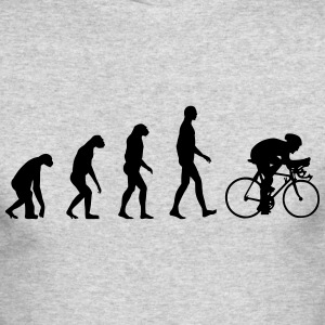 Evolution Bike, Cycling Long Sleeve Shirts - Men's Long Sleeve T-Shirt by Next Level