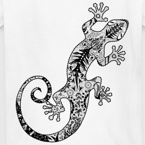 gecko made from various ornaments Kids' Shirts - Kids' T-Shirt