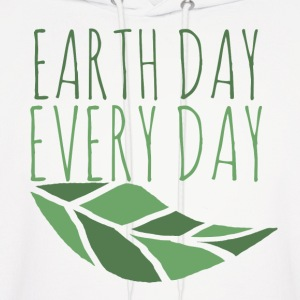 Earth Day Every Day - Men's Hoodie