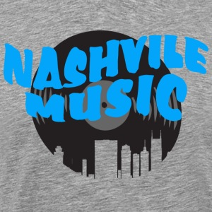 Nashville Country Music - Men's Premium T-Shirt