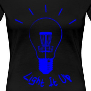 Light It Up (blue ink) Women's T-Shirts - Women's Premium T-Shirt