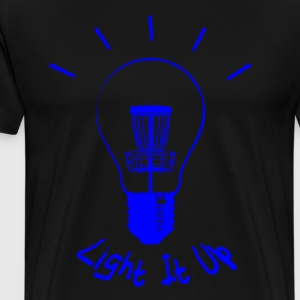 Light It Up (blue ink) T-Shirts - Men's Premium T-Shirt