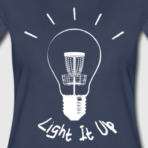 Light it up (white ink) Women's T-Shirts - Women's Premium T-Shirt