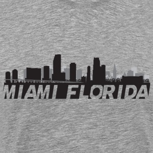 Miami Florida Skyline - Men's Premium T-Shirt
